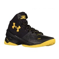 Under Armour Curry 2 'Black Knight' メンズ Black/Black/Taxi アンダーアーマー バッシュ ステフィンカリー