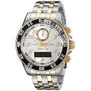 インビクタ 時計 インヴィクタ メンズ 腕時計 Invicta Men's 15816 Pro Diver Analog-Digital Display Swiss Quartz Two Tone...