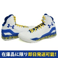 SC30 ステファン・カリー UA CLUTCHFIT DRIVE Under Armour White Taxi Royal