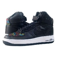NIKE WMNS AIR FORCE 1 HIGH BHM ナイキ ウィメンズ エア フォース 1 ハイ BHM BLACK/NOBLE RED/SUMMIT WHITE
