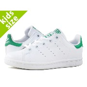 【キッズ サイズ】【17cm-21.5cm】 adidas STAN SMITH EL C 【adidas Originals】 アディダス スタンスミス EL C RUNNING WHITE...