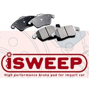 iSWEEPブレーキパッド IS1500 フロント用 for AUDI A4(B8)