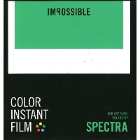 IMPOSSIBLE ポラロイド用インスタントフィルム COLOR INSTANT FILM for SPECTRA