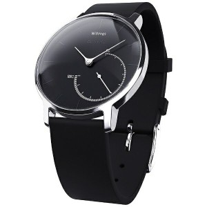 【送料無料】 WITHINGS ウェアラブル端末 「Withings Activite Steel Black」 HWA01-Steel-Black-Asial[HWA01STEELBLACKAS]