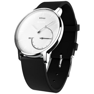 【送料無料】 WITHINGS ウェアラブル端末 「Withings Activite Steel White」 HWA01-Steel-Black&White[HWA01STEELBLACK&WH]