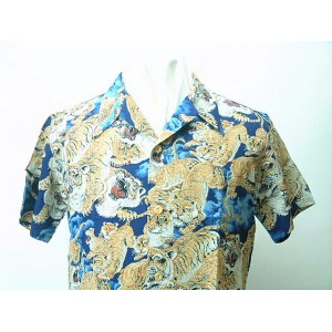 "SUN SURF (サンサーフ) SPECIAL EDITIONALOHA SHIRTSKALAKAUA ""ONE HUNDRED TIGAR""送料無料 【smtb-TK】"