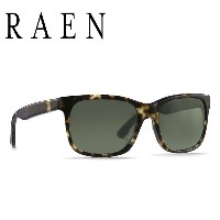 RAEN Optics レーン サングラス / WESTON - BRINDLE TORTOISE/ GREEN / 正規代理店 / WST-017-GRN