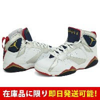 ジョーダン JORDAN AIR 7 ナイキ Nike White Metallic Gold-Midnight Navy-True Red