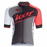 ZOOT M CYCLE TEAM JERSEY BLACK/RACE DAY RD