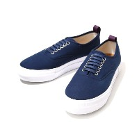 EYTYS(エイティーズ)LO CUT DECK SHOES-DEEP NAVY-(厚底 ラバーソール キャンバス スニーカー) MOTHER-CANVAS-D-NVY【RIP】