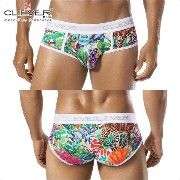 【CLEVER2016-1】 CLEVER クレバー ブリーフ メンズ Ref,5261 Clever Leopard Brief ローライズボクサー 【男性下着 下着 ボクサー メンズ Men's...