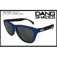 DANG SHADES SWITCH GLOSS BLUE/BLACK x BLACK vidg00122 トイサングラス