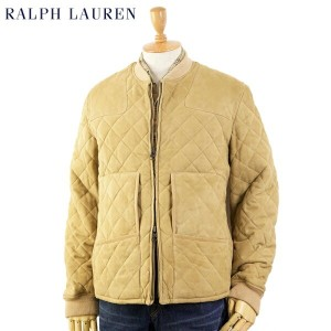 POLO by Ralph Lauren Leather Quilted Jacket US ポロ ラルフローレン レザー キルティングジャケット