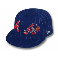 NEW ERA ATLANTA BRAVES 【BIG-ONE DOUBLE WHAMMY/NAVY】 ニューエラ アトランタ ブレーブス 59FIFTY フィッテッド キャップ FITTED...