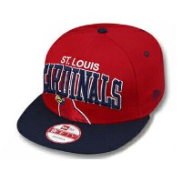 NEW ERA ST.LOUIS CARDINALS 【SUPER-LOGO ARCH SNAPBACK/RED-NAVY】 ニューエラ セントルイス カージナルス 9FIFTY スナップバック ...