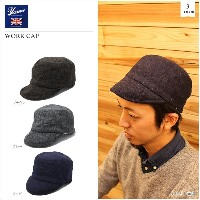 【Yarmo/ヤーモ】WORK CAP 3color