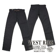 【WESTRIDE ウエストライド】ボトム/15FW CYCLE THICK PANTS★送料・代引き手数料無料!REAL DEAL