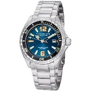 ステューリング オリジナル 腕時計 メンズ 時計 Stuhrling Original Men's 382.33116 Prestige Swiss Regatta Captain Quartz Diver Date Blue...