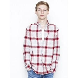【SALE/40%OFF】NUMBER (N)INE FLY FLONT SHIRTS_FLANNEL ナンバーナイン シャツ/ブラウス【RBA_S】【RBA_E】【送料無料】