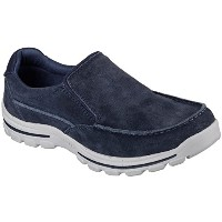 Skechers Relaxed フィット Braver Navid メンズ Loafers ネイビー 10 (海外取寄せ品)