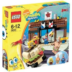 LEGO (レゴ) Spongebob 3833 Krusty Krab Adventures ブロック おもちゃ