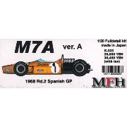 M7A Ver.A 1968 Rd.2 SpanishGP【1/20 K-323 Full detail kit】