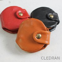 CLEDRAN (クレドラン)ESCA SERIESKEY COIN CASE 3colorcl-2407-h