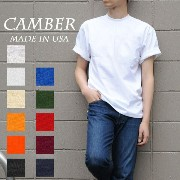 CAMBER MAX WEIGHT 301 S/S TEE 8oz キャンバー マックスウェイト S/S Tシャツ 8オンス 無地 白T MADE IN USA メンズ レディース ユニセックス...
