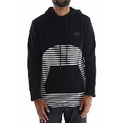 AO40)HUDSON NYC OUTERWEAR STRIPED PANELプルオーバーパーカー(H5050572)★US購入B系HIPHOPカジュアルストリートセレブ【送料...