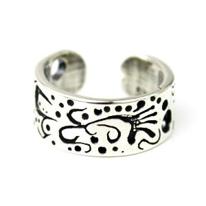 【VASSER】バッサー 【ネコポス(ポスト投函)対応商品】Vintage Dychedelic Pinkie Ring/Toe Ring(ヴィンテージダイケデリックピンキーリング/トゥリング)...
