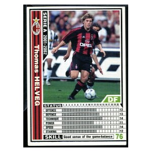 [WCCF]SERIE A 2001-2002Ver.1 149/288「トーマス・ヘルヴェグ」白カード【中古】