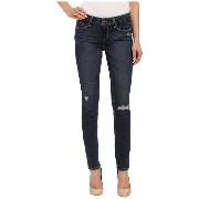 Paige Skyline Ankle Peg Jeans パンツ in Elia Destructed