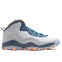 "エアジョーダン ナイキ air air jordan 10 retro (gs) ""bobcats"""