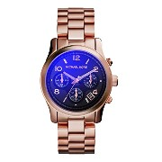 Michael Kors マイケルコース レディース腕時計 Runway Iridescent Dial Rose Gold-tone Ladies Watch MK5940