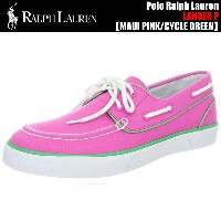Polo Ralph Lauren LANDER P MAUI PINK/CYCLE GREEN【ポロ スニーカー】