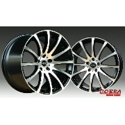 ■ COBRA Design NIGHTHAWK-01 ■ 19インチ 8.5J/9.5J PCD114.3(F)235/35R19 + (R)265/30R19 タイヤ付