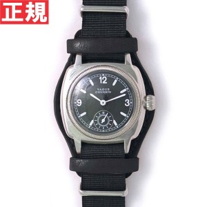 【5%OFFクーポン!5月29日9時59分まで!】ヴァーグウォッチ VAGUE WATCH Co. 腕時計 COUSSIN MIL メンズ クッサンミリタリー CO-L-007-05BK【2016...