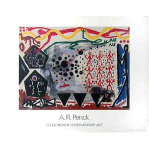 A.R.ペンク【A.R.Penck】 ポスター アート ポスター Accident in NY