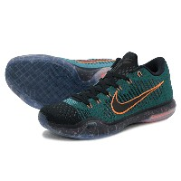 2015年 FALLモデル NIKE KOBE X ELITE LOW ナイキ コビー 10 エリート ローDARK ATOMIC TEAL/TOTAL ORANGE-MINERAL TEAL...