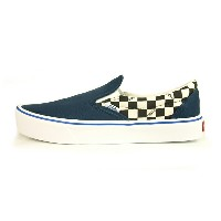 【VANS CLASSIC PLUS/バンズ クラシックプラス】SLIP-ON LITE (CEEING CHECKERS) DORESS BLUE【VANS CLASSIC+ スニーカー・靴】