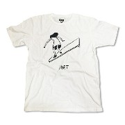 RHC Ron Herman (ロンハーマン): SURT GIRL by Geoff Mcfetridge Tシャツ