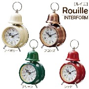 Rouille ルイエ テーブルクロック目覚まし時計 テーブルクロック目覚まし時計 置き時計目覚まし時計 目覚まし時計