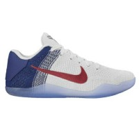 "Nike Kobe XI 11 Elite Low ""USA"" メンズ White/University Red/Deep Royal Blue ナイキ コービー11 Kobe Bryant..."