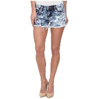 Blank NYC Acid Wash Cut Off Short in Schwing