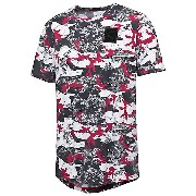 プーマ PUMA X TRAPSTAR LOGO TEE メンズ Barbados Cherry-TRAP CAMO