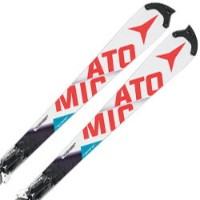 ★ATOMIC〔アトミック スキー板〕<2017>REDSTER FIS SL M + X16 VAR【金具付き・取付料送料無料】〔z〕