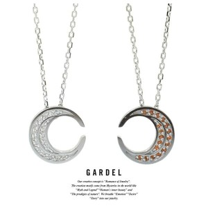 GARDEL ガーデル GDP-136 TO,ME,Collection Moon Necklace 三日月 ネックレス Silver シルバー