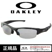 日本正規品 オークリー サングラス【FLAK JKT/Jet Black/Lt Grey Polarised】[12-900J]OAKLEY SUNGLASS flat jacket フラックジャ...