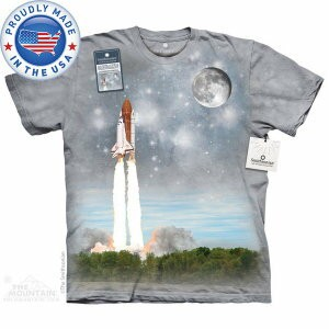The Mountain Tシャツ The Smithsonian Final Flight To Iss (The Smithsonian 宇宙 スペースシャトル メンズ 男性用 男女兼用 )...