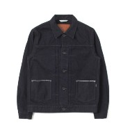 UR WORK NOT WORK SELVAGE DENIM 2POCKET JACKET2【アーバンリサーチ/URBAN RESEARCH デニムジャケット】
